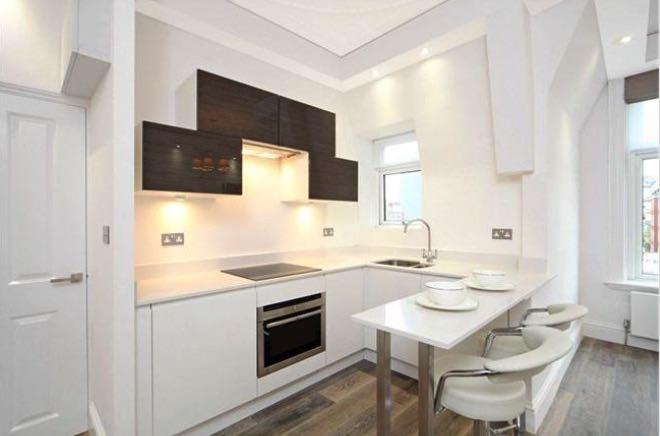 Soggiorni moderni con cucina a vista idee per il design for Piani casa in stile artigiano 2 camere da letto