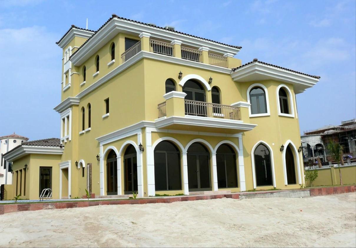 Dubai palm jumeirah villa ville investimento vendita palma for Interno ville foto