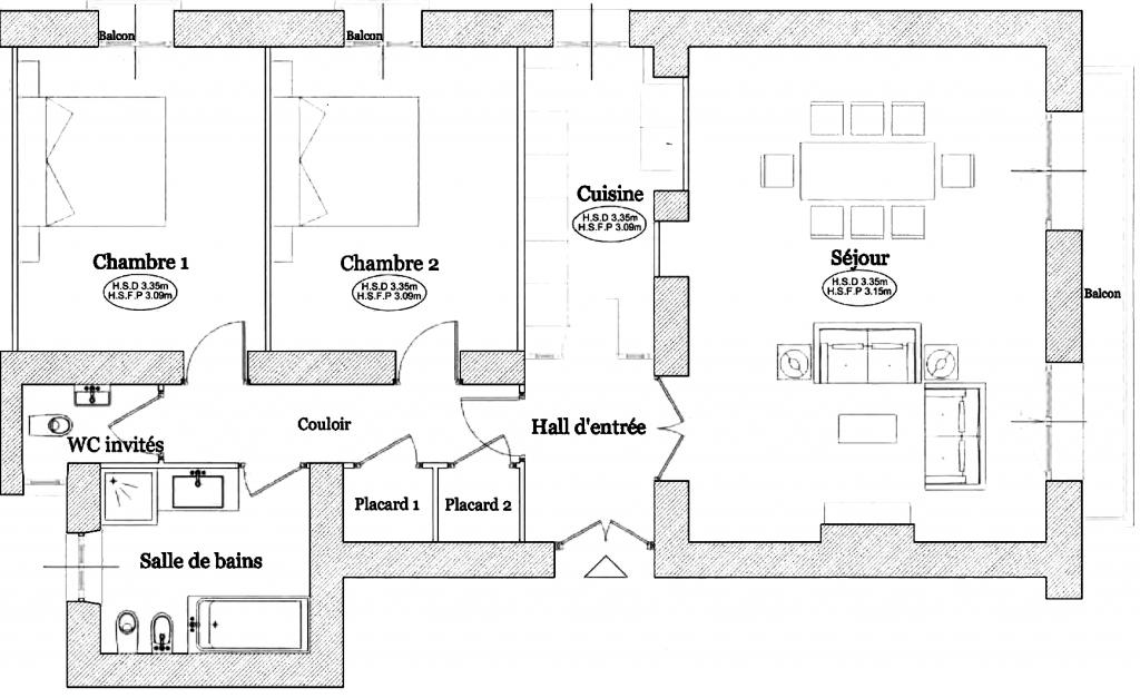 Monaco appartamenti ville appartamento villa for Ristrutturare appartamento 75 mq