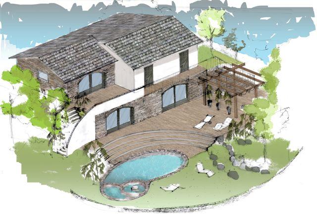 Ville costa azzurra liguria pagina 2 - Progetto villa con piscina ...